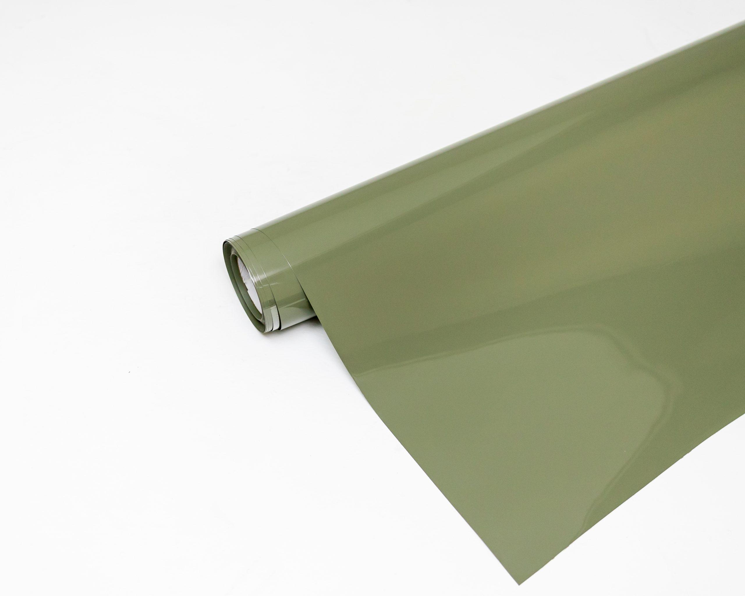 Inozetek - Super Gloss Khaki Green 1.52 x 20